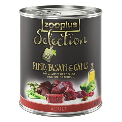 zooplus Selection Adult Rind, Fasan & Gans