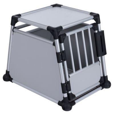 Trixie Transportbox für Hunde aus Alu